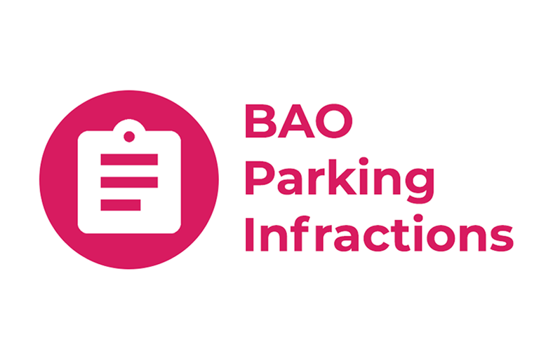 BAO Parking Infractions